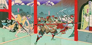 Oda nobunaga death
