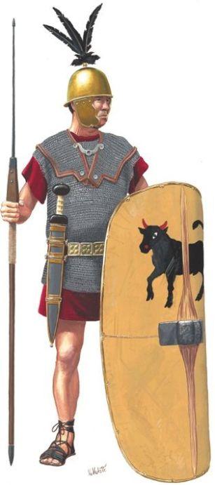 Roman legionary 2nd Century