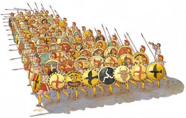 Greek phalanx 2
