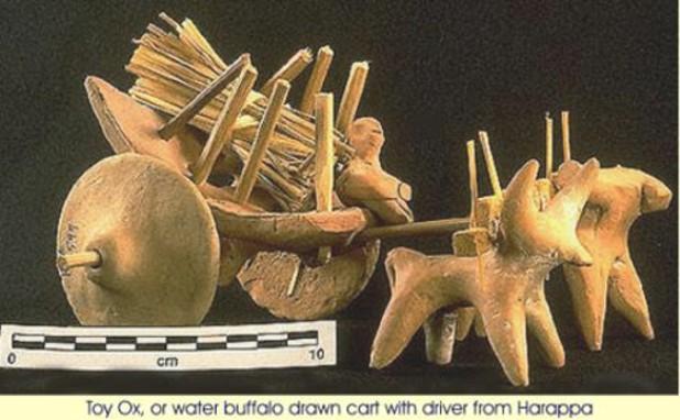 Female figure w... Mohenjo Daro Great Granary