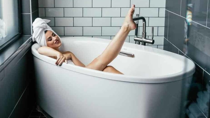 Women in bathtubs