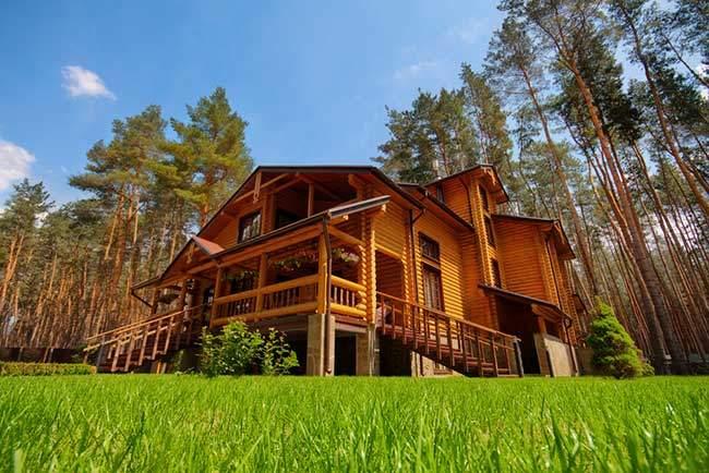 Log Mansions!