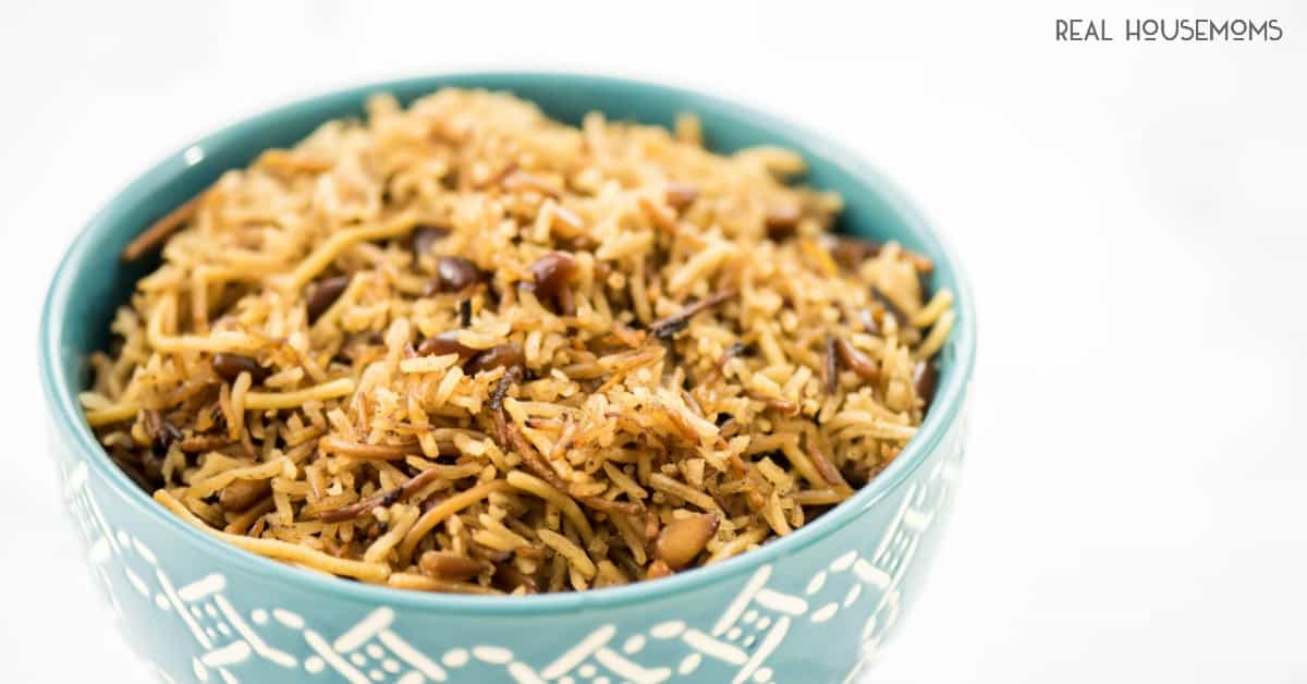 Rice Nuts Pilaf Pine
