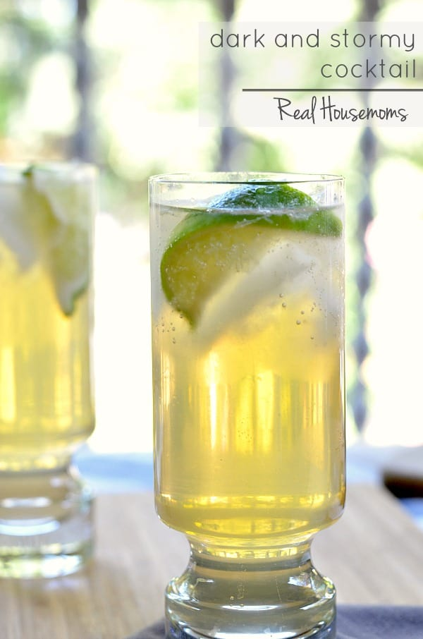 Dark and Stormy Cocktail ⋆ Real Housemoms