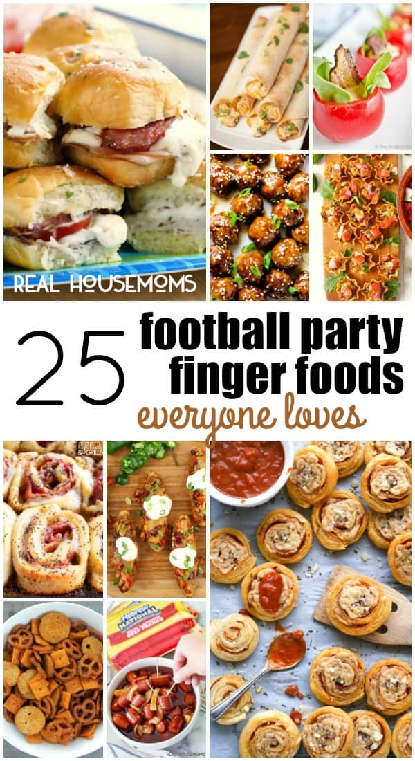 25 football party finger