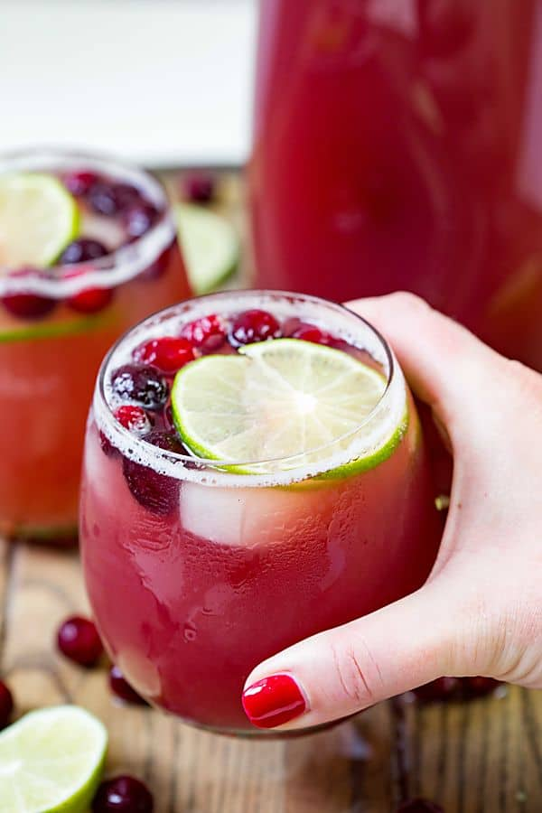 Cranberry Pineapple Puncheasy Cocktail Real Housemoms