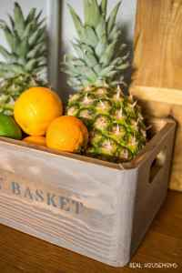 DIY Farmhouse Fruit Basket Tutorial