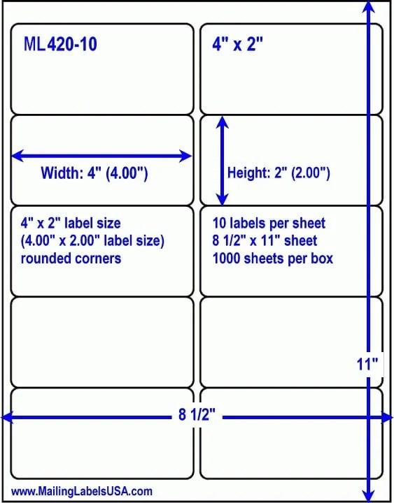 Avery 8163 Template : avery, template, Avery, Templates, Labels, Shipping]