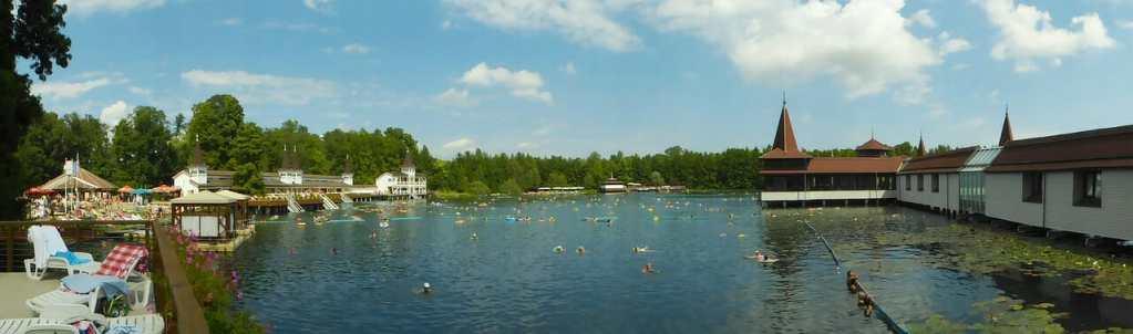 heviz, hungary, lake