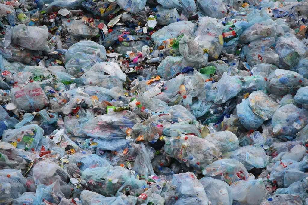 waste, garbage, garbage bag