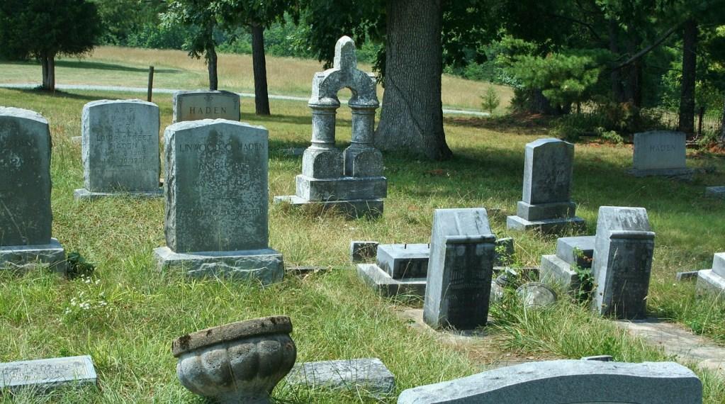 cemetery, old, graveyard