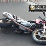Jovem morre em José de Freitas após perder o controle da moto em quebra-molas e bater a cabeça em meio-fio