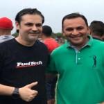 Prefeito Roger Linhares participa da grande final da Copa São José