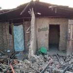 Família é abrigada após ter casa destruída por incêndio na zona rural de José de Freitas
