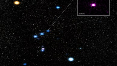 Delta Orionis no cinto de Orion
