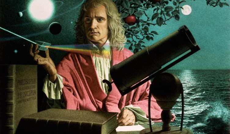 Isaac Newton - Um Dos Maiores Gênios da Humanidade