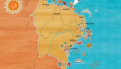 Praia do nordeste é considerada a melhor praia do Brasil