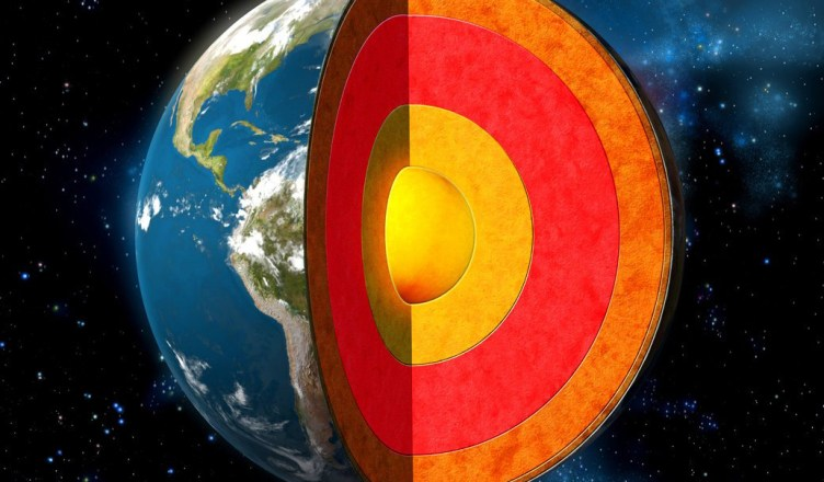 Uma viagem ao centro da Terra - Camada por camada