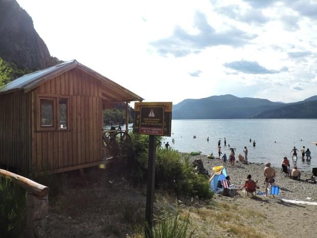 Parques Nacionales y el Ministerio de Turismo provincial trabajan para la habilitación de campings y balnearios