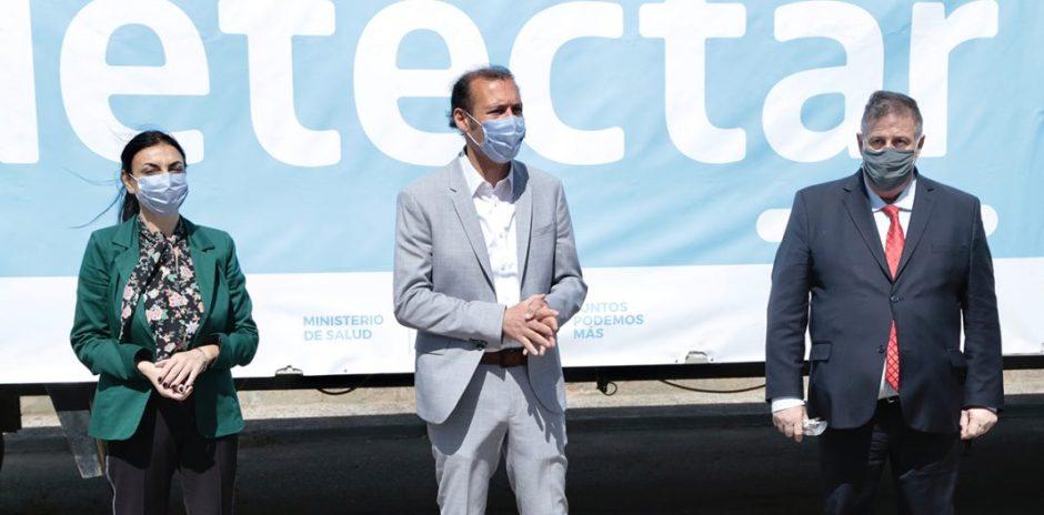 Neuquén comienza a implementar los test rápidos del plan DetectAR Federal