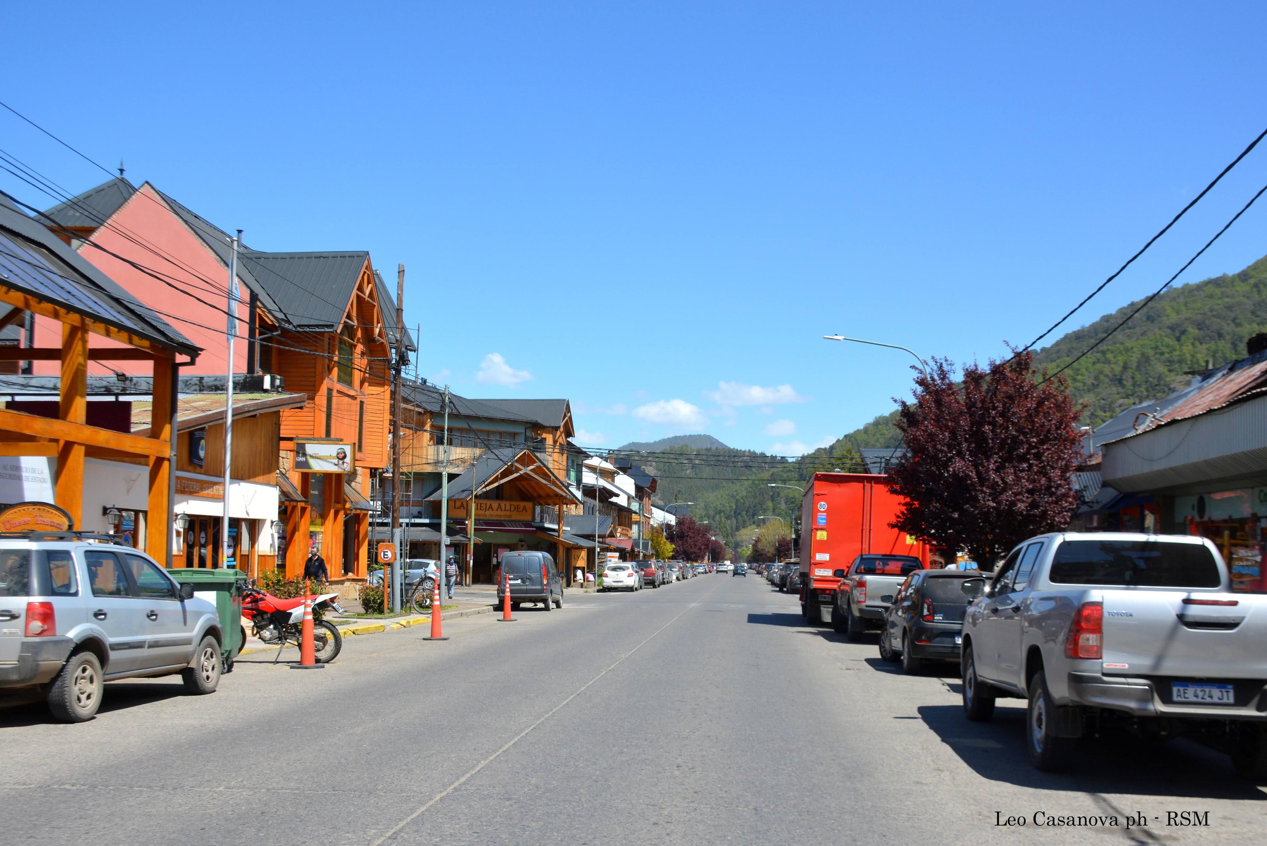 Calles San Martín de los Andes