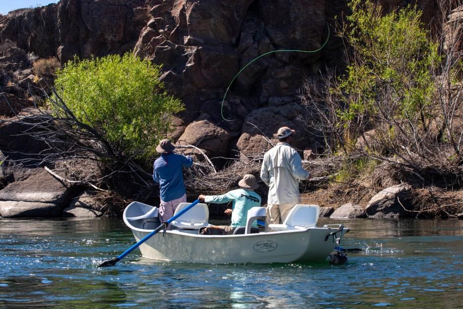 Se trabaja en los últimos detalles para la nueva temporada de pesca deportiva que se aproxima en Neuquén