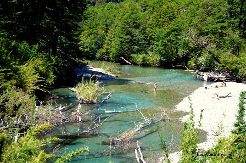 Lago, río y termas la belleza sin igual de Queñi