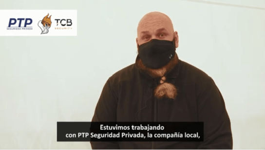 PTP Seguridad Privada brindó la logística local para la grabación de un reality show internacional