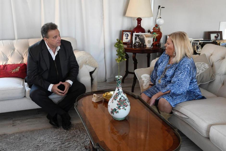 De cara a las próximas PASO Carlos Eguía recibió el apoyo de Elisa Carrió
