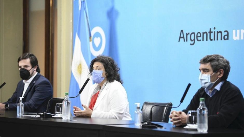 Vizzotti aseguró que Argentina está «en condiciones de avanzar en las 24 jurisdicciones para intercambiar diferentes vacunas»