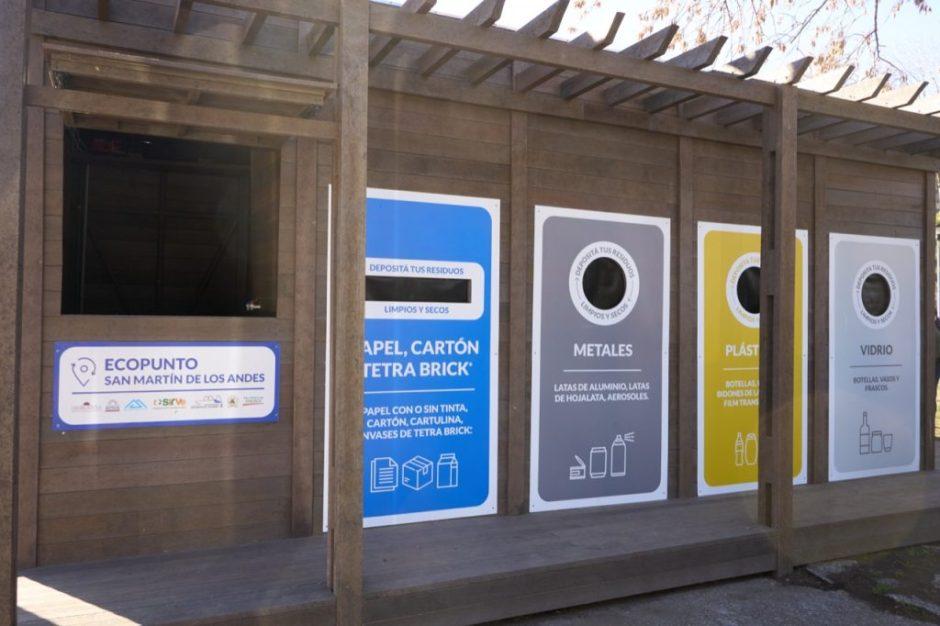 El EcoPunto recuperó 3000 kilos de residuos