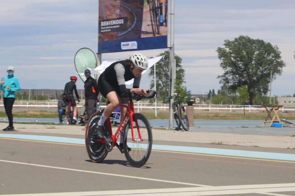 La sanmartinense Julieta Alegre forma parte de la selección provincial de ciclismo que participará en los Juegos Nacionales de la Araucanía