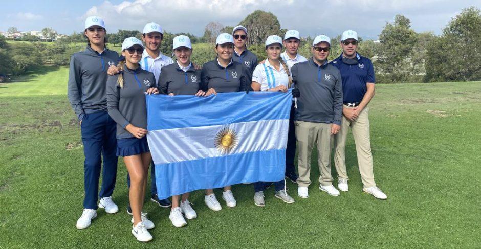 María Cabanillas participa junto a la delegación  argentina del Sudamericano Prejuvenil y Juvenil de Golf, que se desarrolla en Ecuador