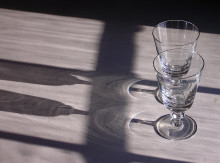 goblets and shadows