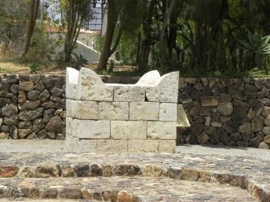 Israelite altar at Beer-Sheva