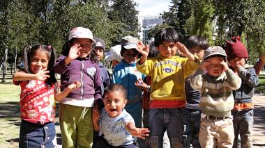 Happy Children Playing Kids