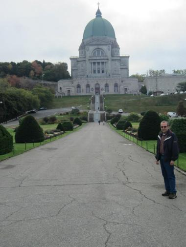 Dad returning to his mission in Montreal