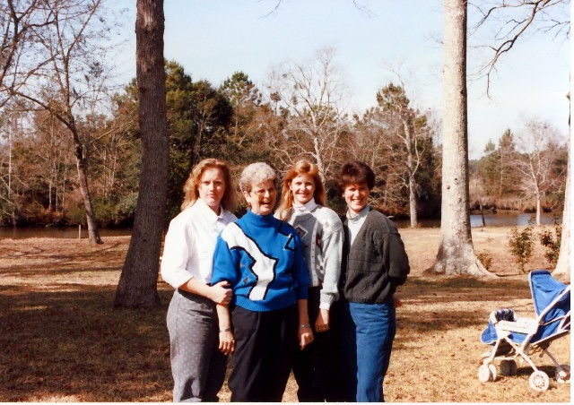 Mom and girls at the Creek in Mobile.jpg