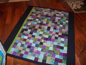 Mosaic quilt top