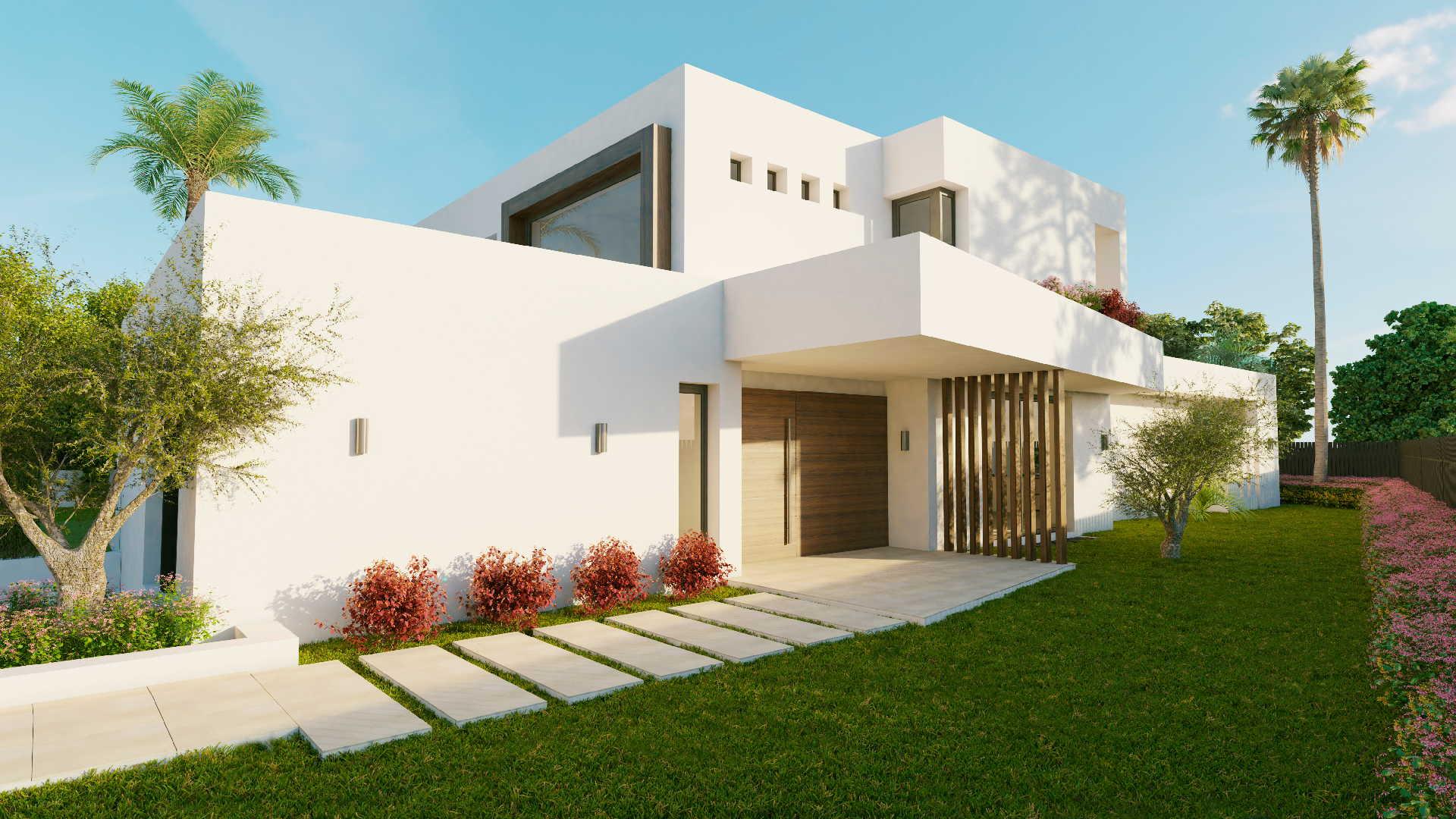 Los Olivos Nueva Andalucia Marbella New Modern Villa