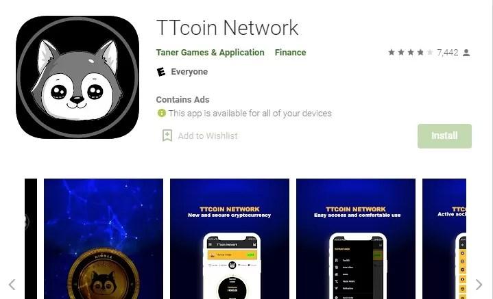 TT Coin Network Apk