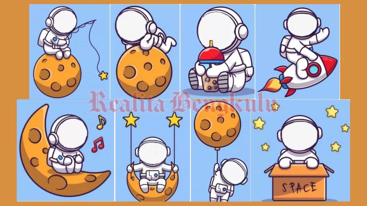 Twibbon Astronot