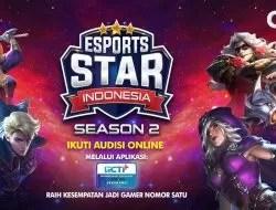 Cara Registrasi Esport Star Indonesia Season 2 GTV 2021 di RCTI+