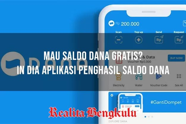 Aplikasi Penghasil Saldo Dana