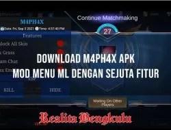 M4PH4X Apk: Mod Menu Mobile Legends Terbaru! Banyak Fiturnya!
