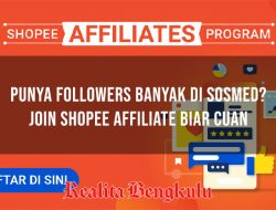 Shopee Affiliate: Dapat Uang Model Baru, Berikut Syarat & Cara Daftarnya