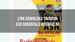 Twibbon ASN Gorontalo Berakhlak