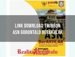 Twibbon ASN Gorontalo Berakhlak, Berikut ini Link Downloadnya