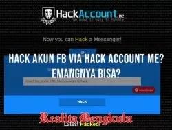 Hack Account Me, Cara Hack Facebook Paling Mudah, Apakah Berhasil?