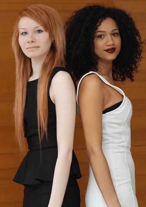 Elles Sont Bel Et Bien : elles, INSOLITE., Jeunes, Filles, Jumelles, Réalités, Online